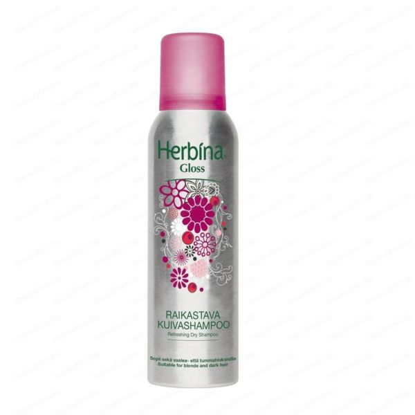 Сух шампоан за обем и блясък Herbina Gloss Dry shampoo